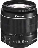 NEW- Canon EF-S 18-55mm f/3.5-5.6 IS STM Camera Lens