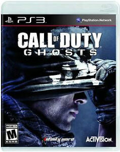 jeu Playstation3  Call of Duty GHOSTS (neuf)