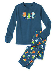 Gymboree NWT Boys Pajamas gymmies pjs 12 18 24 mos 2T 3 4 5 6 7 10 12 monsters