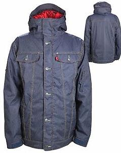 Ski/Snowboarding Jacket, Levis Denim Jacket Look