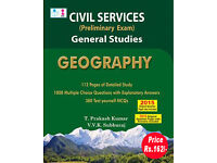 UPSC Civil Services Indian History Exam Book & UPSC Civil Services Geography Book