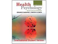 Health Psychology by Sarafino & Smith 7th Edition £8 ONO