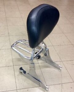 Used Harley Davidson Softail Q/A Backrest and Luggage Rack London Ontario image 1