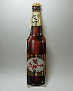 Iroquois Beer Company 1950's bottle & tray cover