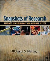 Snapshots of Research: Readings in Criminology & Crim. Justice