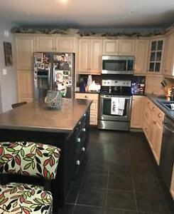 Large 6 year old house, 45 min from Hfx, overlooking the river