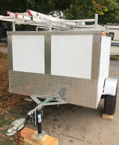 Custom Built Trailer with roof rack