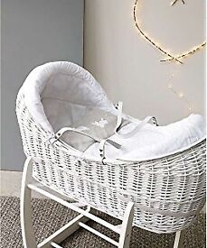 Mothercare Moses basket £100 new !