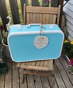 Welcome To The Lake Vintage Decorative Suitcase
