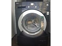 9kg Black LG direct drive Washer, new model,excellent cond,4 months warranty