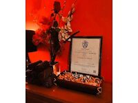 THERAPY FULLY QUALIFIED MASSAGE SERVICES.