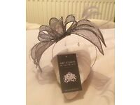 Silver fascinator NEW & BOXED £16