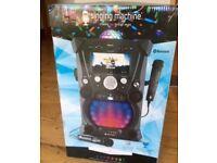 Karaoke The Singing Machine SDL9035 - Carnaval Black