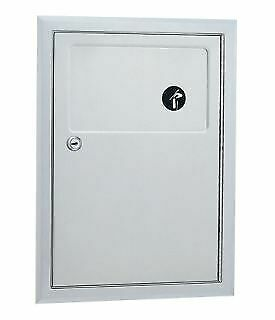 Bobrick B-353 Commercial Restroom Sanitary Napkin/Tampon Disposal