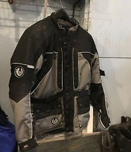 Belstaff motorcycle jacket and pants