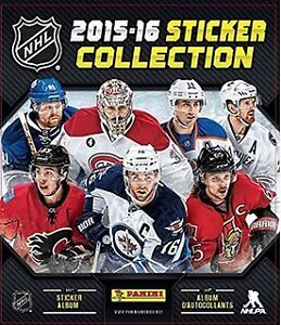 2015-2016 Panini NHL Hockey Stickers 15 - 20 Cents Each
