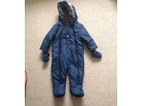 Snowsuit aged 12-18 month M&S Autograph