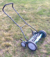 Barely used Yardworkers Push Lawn Mower