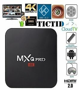 MXQ Pro Android TV Box - Amlogic S905 Chipset , Android 7.1.2