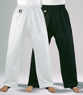 Baumwollhose 8Oz,Kwon.200 od. 210cm.Karate,TKD,Ju Jutsu