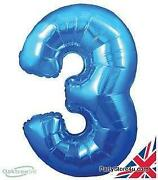 Number Helium Balloons
