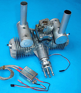 "DLE 100 Model Aircraft Engine ""used"""