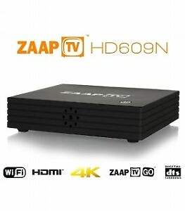 ZaapTV™ HD609N Quad Core 4K Arabic IPTV Media Box w/ Kodi