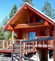 Rustic Log Cabin with Amazing Views