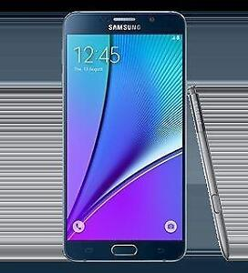 UNLOCKED SAMSUNG NOTE 5 WITH BOX AND WARRANTY