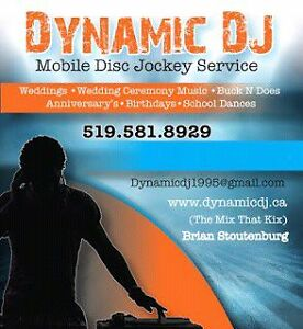 Dynamic Disc Jockey DJ Services Stratford Kitchener Area image 1