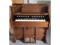 NOW REDUCED! Beautiful rare vintage harmonium with lovely details in Moretonhampstead