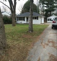 ALCONA! WALK TO DOWNTOWN AND BEACHES! 60 X 200 FT. LOT!! OCT. 1