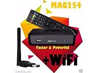 254/255 HD IPTV BOX REPLACES SAT BOXES-NO DISH NEEDED+12 MTHS-SMART TV/OPENBOX-BRAND NEW/SEALED