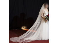 Cathedral Wedding Veil.