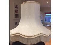 Cream/White Lamp Shade - John Lewis
