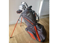 SET OF CLEVELAND IRONS RIFE PUTTER & NEW COBRA STAND BAG - £195 - CASH ON COLLECTION ONLY