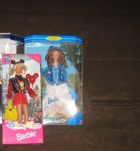 2 COLLECTOR BARBIES $20 & $25