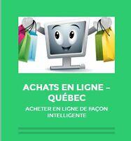 AchatsEnLigne.ca - comment acheter en ligne de façon intelligent