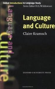 Language and Culture by Claire Kramsch Kitchener / Waterloo Kitchener Area image 1