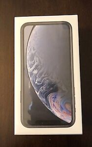 Black iPhone XR Brand New in the box Sealed - 2 Years Apple Care