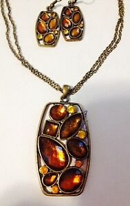 Necklace & earrings set - price reduced $40