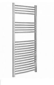 Chrome Towel rails from as little as £78