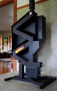The WiseWay Pellet Stove is the answer to your  heating needs