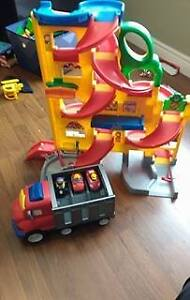 Fisher price zig and cars