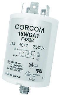 1PK CORCOM-TE CONNECTIVITY-16WGF1-FILTER,EMI/RFI,IEC,16A,200uA