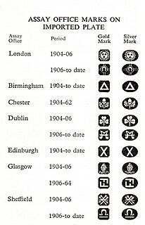 common control marks required by uk law since new hallmarking regulations 1st january 1999