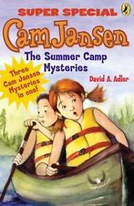 Cam jansen and the summer camp mysteries: a super special (neuf)
