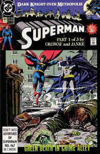Superman - Dark knight over Metropolis