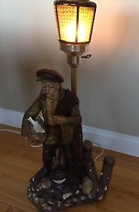 Novelty Fisherman Lamp