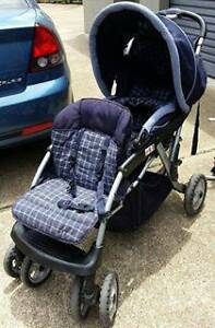 Twin Inline Stroller Browns Plains Logan Area Preview
